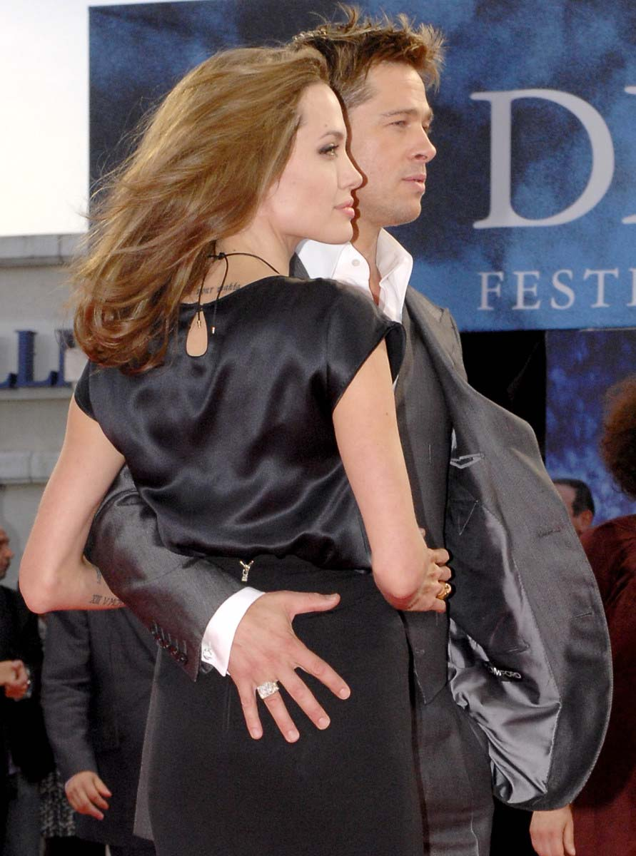 Image result for angelina jolie and brad pitt hot